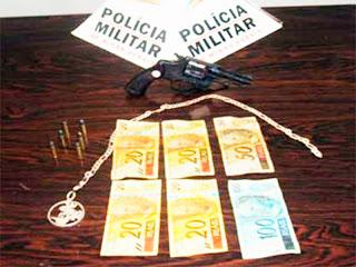 Policiais prendem menores assaltantes em Miraí